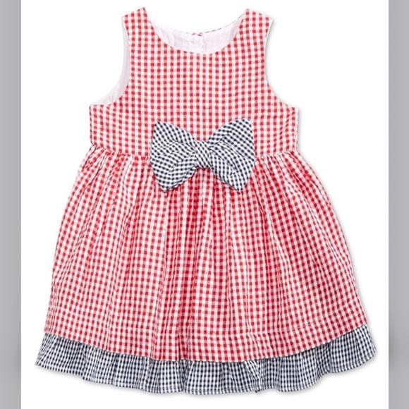 Marmellata Gingham Cotton Dress